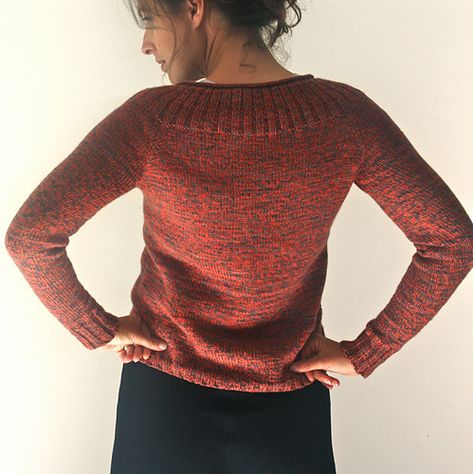 09546365ad65 This pullover is worked seamlessly from the top down in the round ...