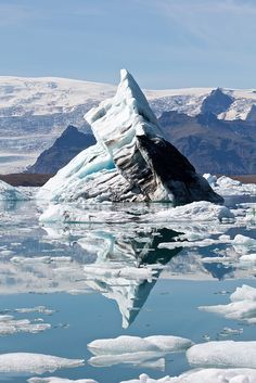 The Sea of Ice by Marco Bellucci, via Flickr; southeast Iceland, on the borders of Vatnajökull National Park