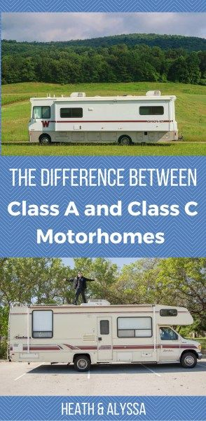 The Difference Between Class A and Class C Motorhomes | Best
