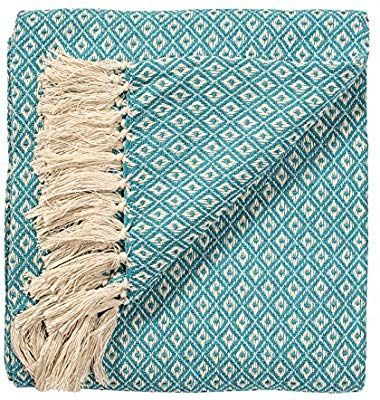 Indian Arts Fair Trade Soft Hand Woven Tagesdecke Sofa Sofa