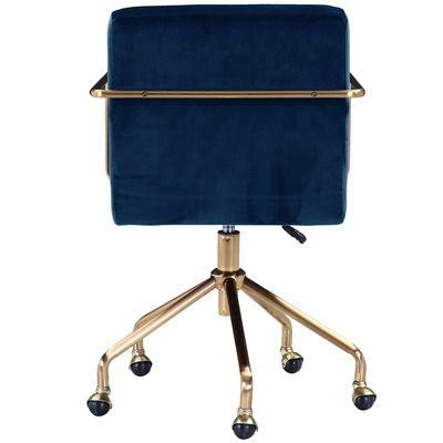Camden Velvet Office Chair In 2020 Velvet Office Chair Office Chair Office Chairs Online