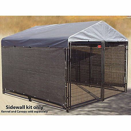Lucky Dog Winter Screen Kit Side Cloth 5 Ft H X 25 Ft L Cl 06324 At Tractor Supply Co Dog Kennel Cover Outside Dogs Dog Pen