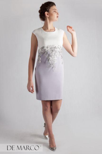 Wyjatkowo Piekna Sukienka Z Ekskluzywna Gipiura Ryheza Ii Sukienka Na Wesele Dla Mamy Szyta Na Miare On Line W De Marc Dresses Fashion Dresses For Work
