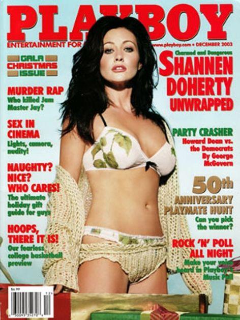 Playboy magazine cover December 2003