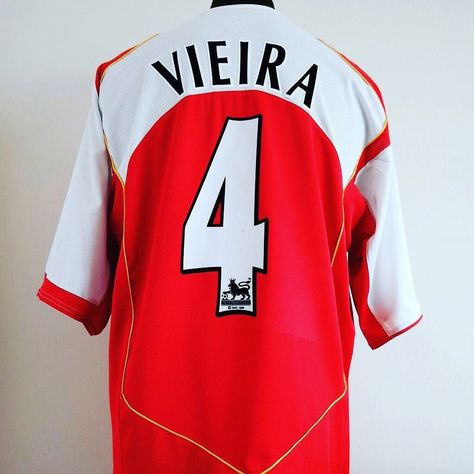 d12f7eec1 2004-05 Arsenal XL VIEIRA  4 - beaut from  classic eleven united 1 left in  store  arsenal  uta  arsenalfc  vieira