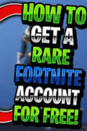 Free Fortnite Accounts With Skins 2019