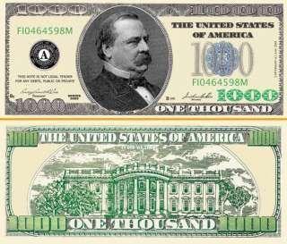 Play Poker Money 1 000 Dollar Bill 500 Bills Bill