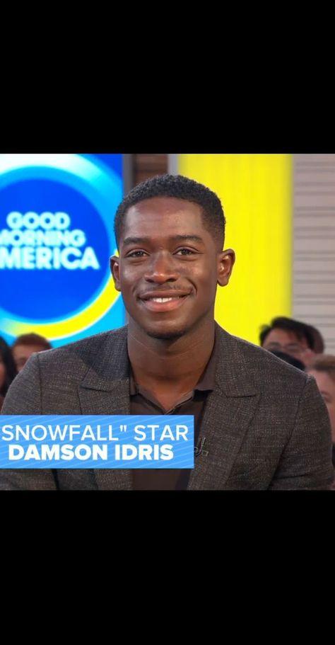 "@damsonidris on Instagram: ""Catch the Season Three Premiere of #Snowfallfx Tonight at 10pm @goodmorningamerica"""