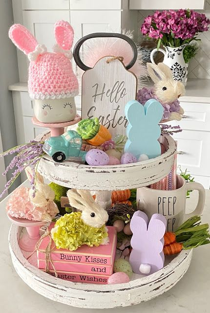 Easter is NOT Canceled! 🐰 We will still celebrate the Lord's resurrection! Even though our gatherings may be small and even though yo. Easter Projects, Easter Crafts, Holiday Crafts, Holiday Decor, Fun Projects, Spring Projects, Easter Ideas, Easter 2021, Diy Easter Decorations
