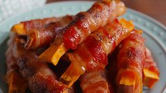Photo of Bacon-Wrapped Sweet Potato Fries