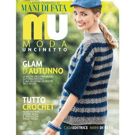 rivista di moda uncinetto donna