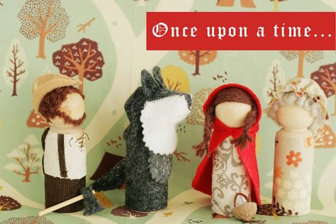 Little Red Riding Hood Storytelling waldorf doll Play Set Tutorial  Little Red Riding Hood and Grandma Tutorial for Hideous! Dreadful! Stinky!