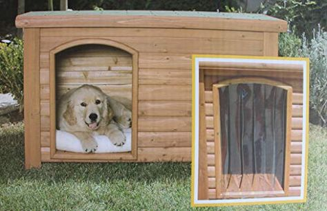 Outback Dog House Door In Clear Size Medium Large 25 X 14 5