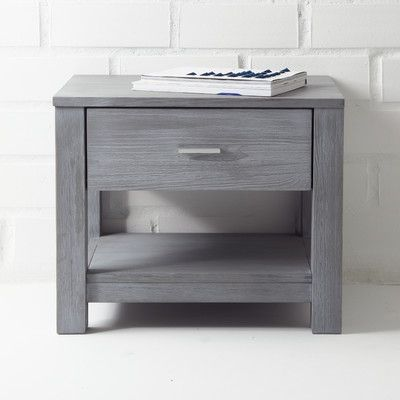 Grain Wood Furniture Loft 1 Drawer Nightstand & Reviews | Wayfair