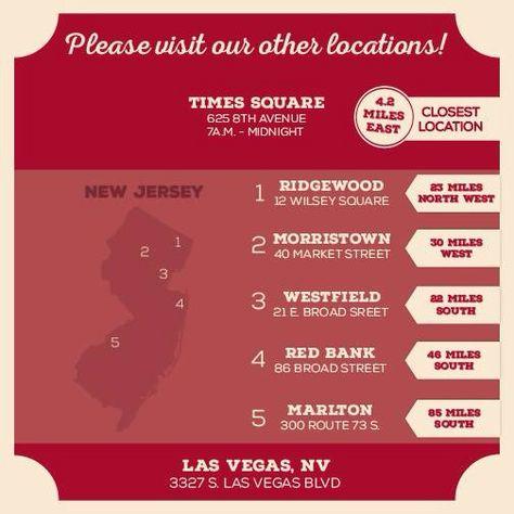 Cake boss locations NY