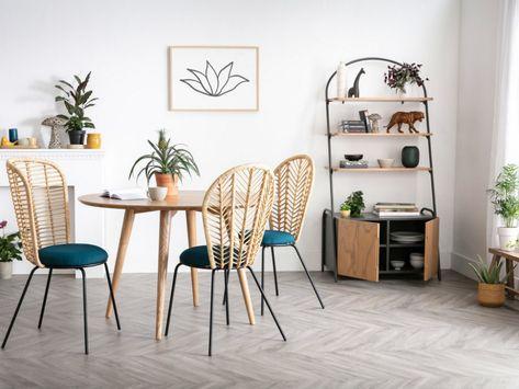Des assises en rotin au style vintage - JOLI PLACE