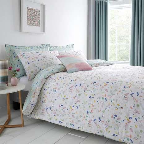 Dunelm Confetti Duvet Cover Set Duvet Covers Reversible Duvet Covers Bed Linens Luxury