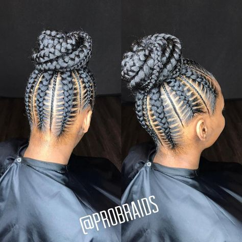 60 Easy And Showy Protective Hairstyles For Natural Hair Protective Hairstyles For Natural Hair Natural Hair Styles Feed In Braid