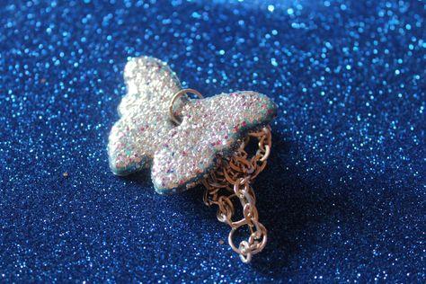 collana #farfalla #butterfly #nenfairydesign #collana #arte #artigianato #accessori #donna #glam #moda