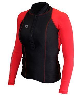 Sharkskin Womens Chillproof Long Sleeve Full Zip Shirt