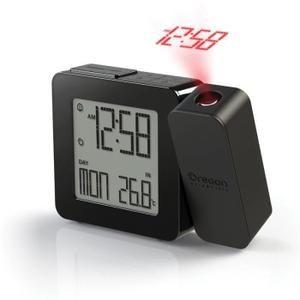 Reveil Sans Radio Oregon Rm338p Noir Reveil Projecteur Reveil Projecteur Reveil Horloge