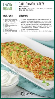 Optavia Lean And Green Meals Bing Medifast Recipes Lean And