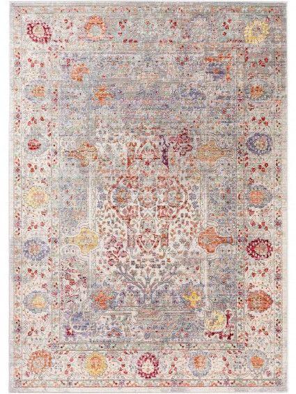 Teppich Visconti Multicolor Grau 80x150 Cm Benuta Orientalische Muster