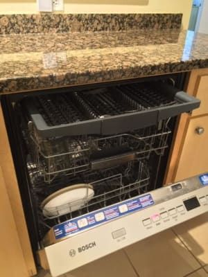 Bosch 500 Series 24 In Stainless Steel Top Control Tall Tub Bar Handle Dishwasher With Stainless Steel Tub Autoair 44dba Shxm65z55n The Home Depot Steel Tub Bosch Dishwasher