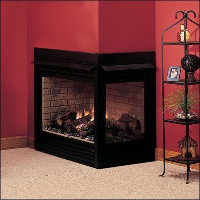 Peninsula Corner Fireplace Fireplace Design Modern Gas