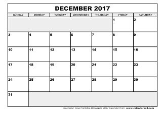 Free Printable Calendar December   December  Calendar