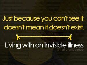 PCOS - no matter what spin you put on it this is an invisible illness that causes all manner of problems...share #PCOSawareness