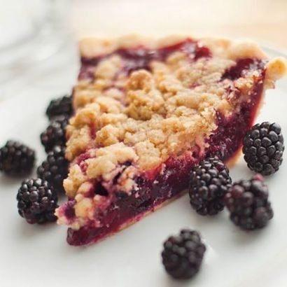 Marionberry Crunch Pie Marionberry Pie Marionberry Berry Dessert