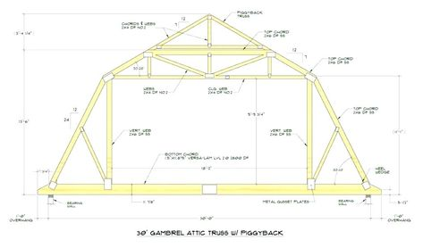 Truss Ceiling Vaulted Ceiling Trusses Vaulted Ceiling Truss Design Bedroom Vaulted Ceiling Truss Design Fox Gambrel Roof Gambrel Roof Trusses Roof Truss Design