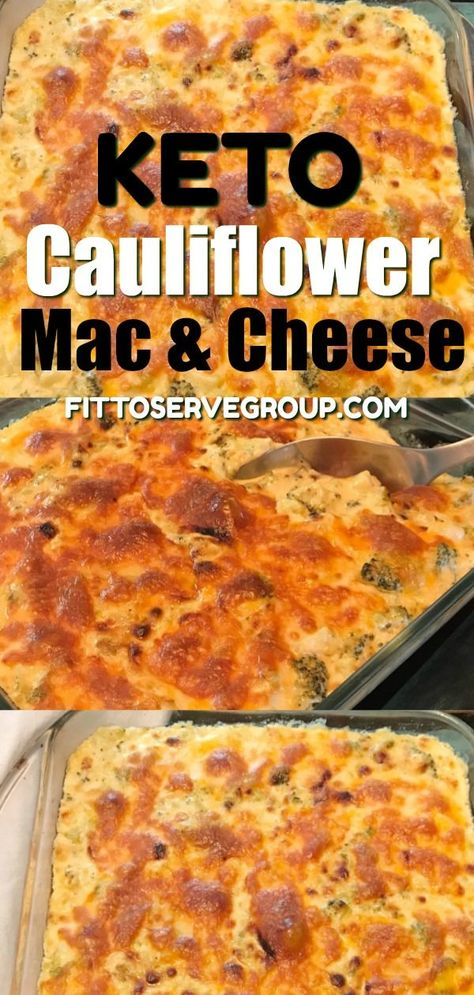 Keto Cauliflower Mac Cheese Is The Perfect Substitute For