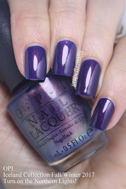 PR SAMPLES Hey Dolls! I have the brand new OPI Iceland Collection for Fall/Winter 2017 to show you today! I am so in love with th...