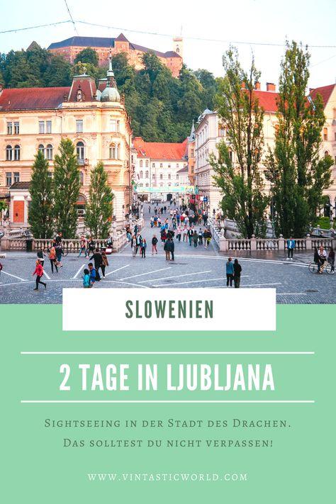 In zwei Tagen in #Ljubljana kann man einige #Sehenswürdigkeiten besuchen. Die Stadt des Drachen lockt mit der Burg Ljubljana & Jože Plečnik's #Architektur. . . . #Wochenendtrip #Städtetrip #Slowenien