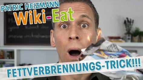 Der Fettverbrennungstrick Sofort Fett Verbrennen Patric Heizmann Youtube Fettverbrennung Training Ernahrung Fitness Korper