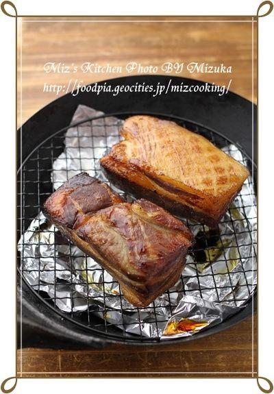 中華鍋 燻製 自家製ベーコン 自家製ベーコン レシピ 料理 レシピ