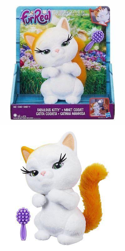 Furreal Friends 38288 Furreal Fuzz Pets Fabulous Kitty Pet Head