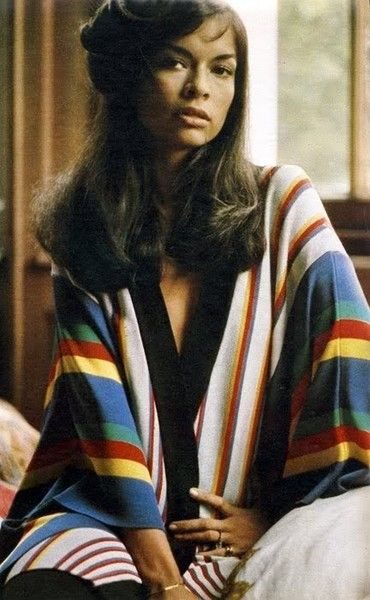 Chic Stripes - Rare and Fabulous Photos of Bianca Jagger - Photos