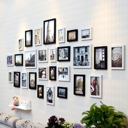 European Wall Decoration Photo Frame Set Of 28 Pcs Picture Frames Online Wall Decor Frame