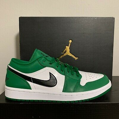 Air Jordan Retro 1 Low Pine Green 553558 301 Fashion Clothing Shoes Accessories Men Mensshoes Ebay Link In 2020 Air Jordans Retro Jordan Retro 1 Air Jordans