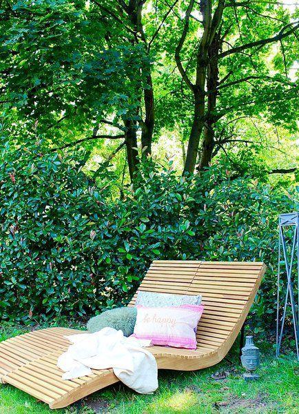 Entspannen Im Garten Die 6 Schonsten Liegen Fur Das Grun Vor Der Haustur Garten Ideen Gestaltung Vorgarten Gartengestaltung Ideen Pflanzen