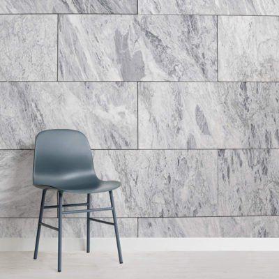 Deep Blue Clouded Marble Wallpaper Mural Murals Wallpaper Pink Marble Wallpaper Tile Wallpaper Wall Tiles Living Room
