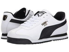 PUMA Roma Basic White/Black - Zappos