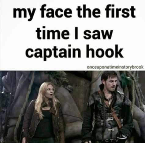 Me and my mom ❤️ OUAT and I am in ❤️ with Captain Hook. I make this face every time he is on screen! Ouat, Fandoms Unite, Thomas Brodie Sangster, Humor 1, Between Two Worlds, Cw Series, Colin O'donoghue, Raining Men, Captain Hook