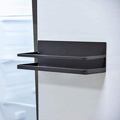 Etagere De Cuisine Support De Stockage D Absorption Magnetique Cote Refrigerateur Pour Epices Assaison En 2020 Idees Etageres Etagere A Epices En Bois