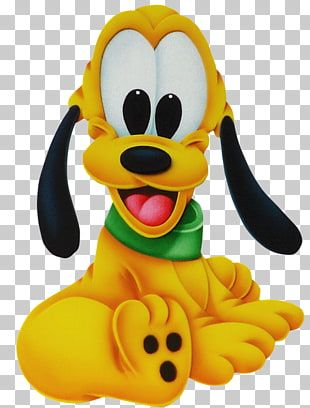Disney Pluto Pluto Mickey Mouse Minnie Mouse Donald Duck Goofy Archivo Pluto Png Clipart Baby Disney Characters Mickey Mouse Art Mickey Mouse Drawings