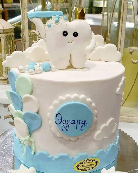 "Мелодия Вкуса🍰🎂🎂🎂🎂 on Instagram: ""#cake #cakeart #melodia__vkusa #firsttoothcake #firsttooth #fondantcake #fondanttorten #instalike #instafood"""