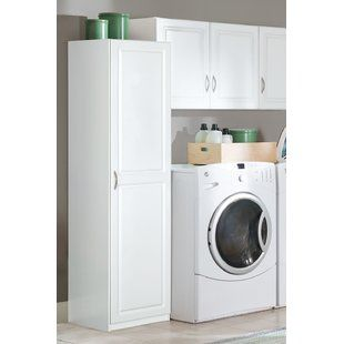 White Garage Storage Cabinets You Ll Love Wayfair Door Storage Wall Storage Cabinets White Storage Cabinets